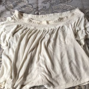Free people off the shoulder top!